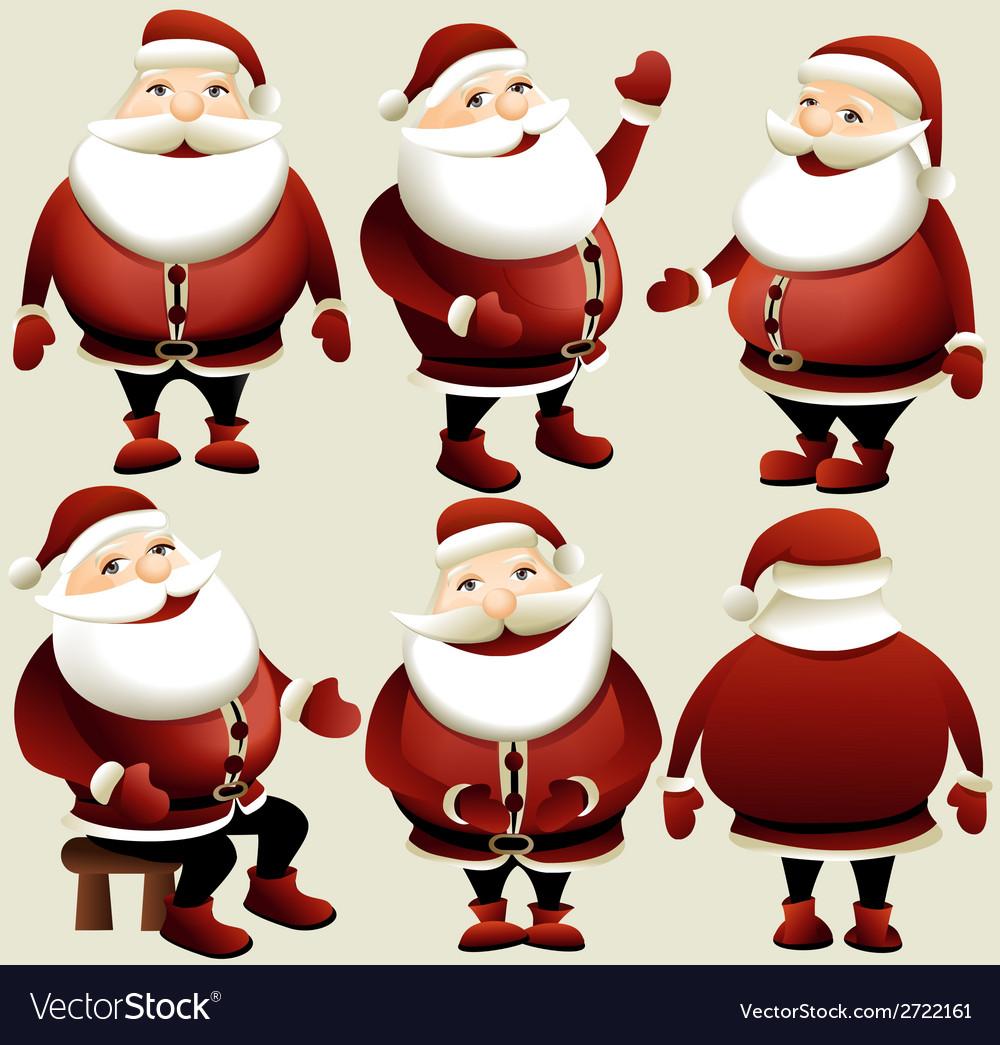 Cartoon santa claus vector | Price: 1 Credit (USD $1)