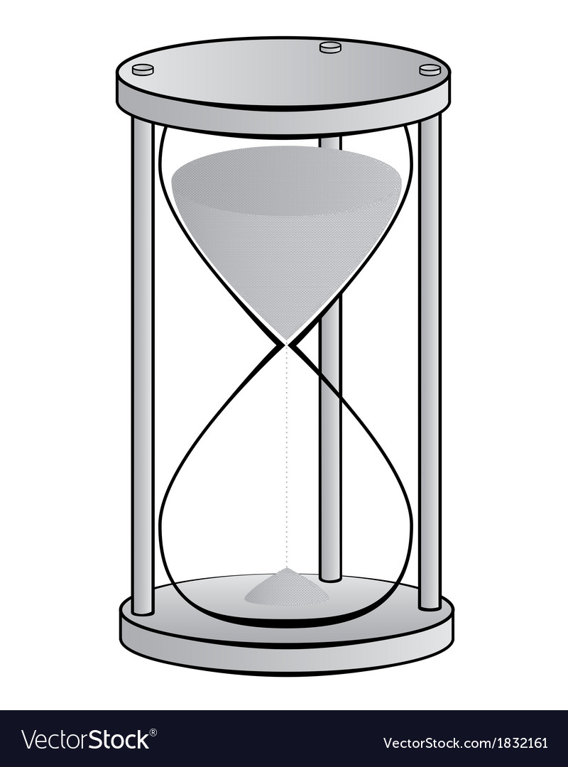 Hourglass2 vector | Price: 1 Credit (USD $1)