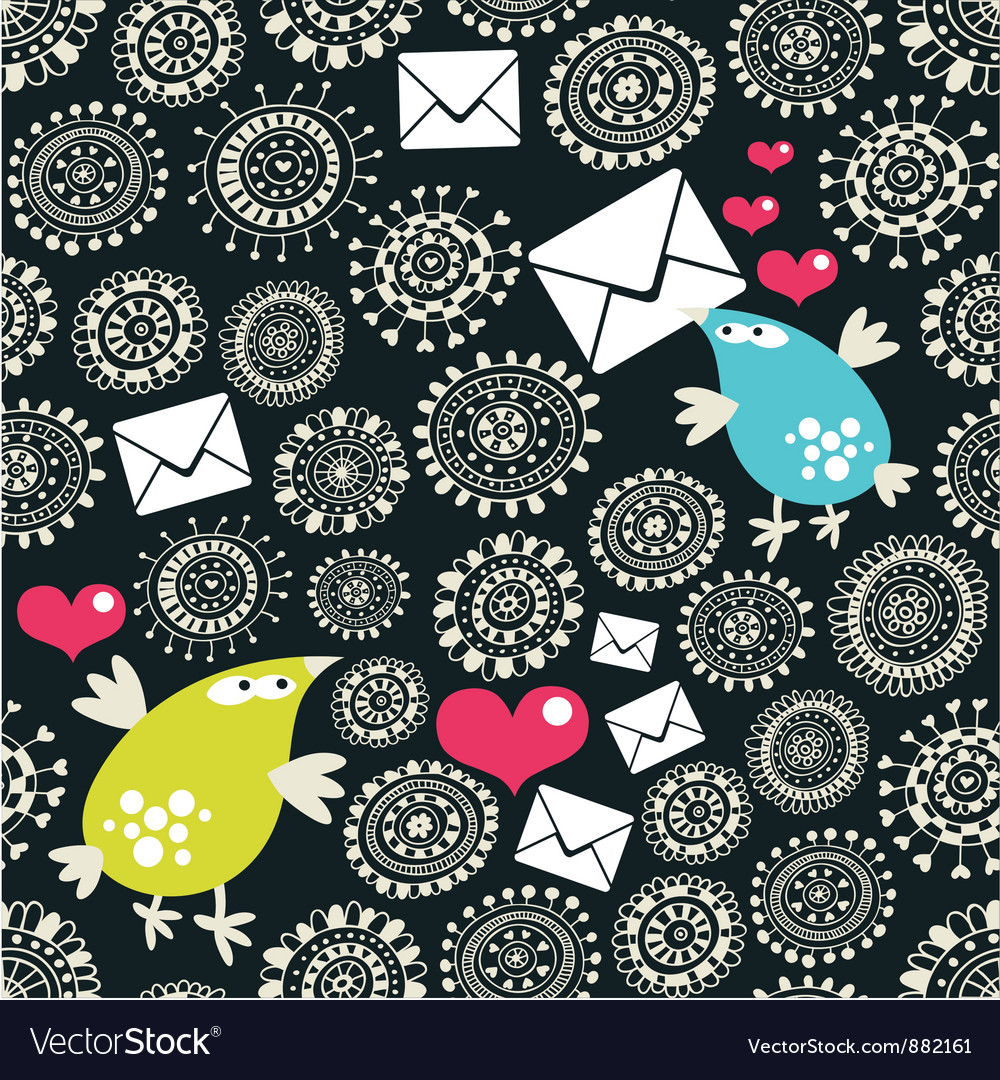 Messenger birds vector | Price: 1 Credit (USD $1)