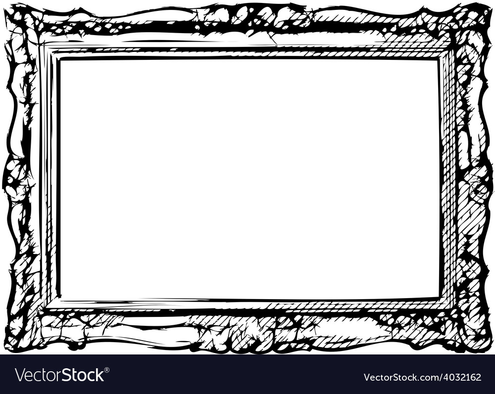 The antique frame vector | Price: 1 Credit (USD $1)