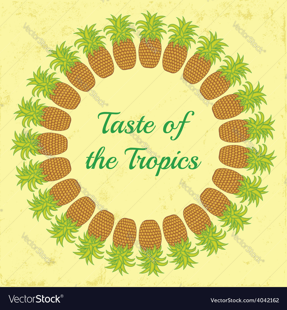 Taste of the tropics vector | Price: 1 Credit (USD $1)