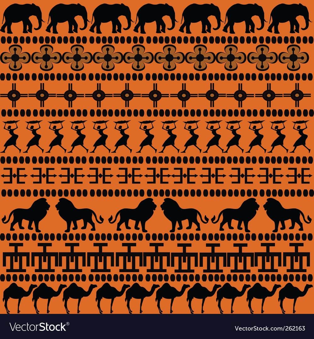 African symbols vector | Price: 1 Credit (USD $1)
