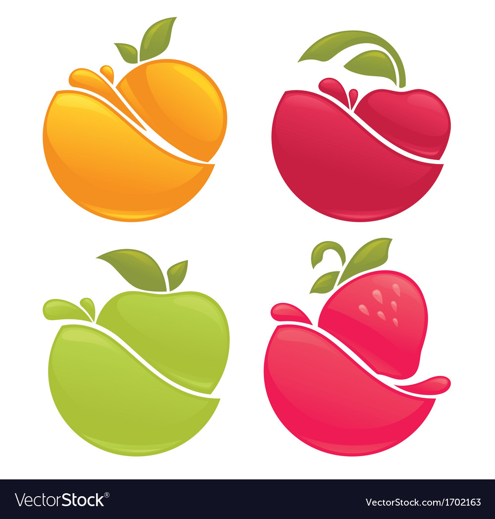 Fruit splashes vector   Price: 1 Credit (USD $1)