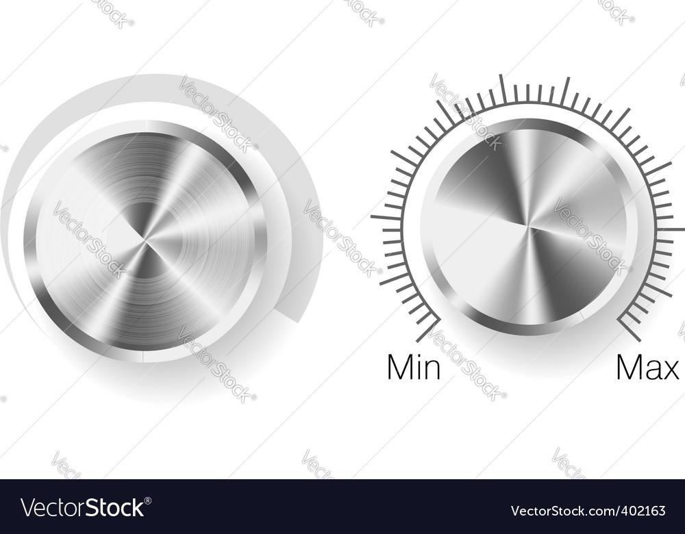 Volume control vector | Price: 1 Credit (USD $1)