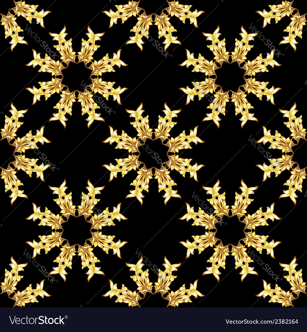 Gold pattern vector | Price: 1 Credit (USD $1)