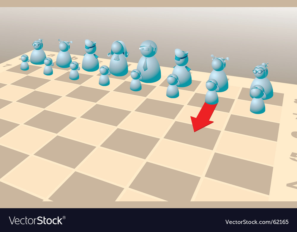 Chess game vector | Price: 1 Credit (USD $1)