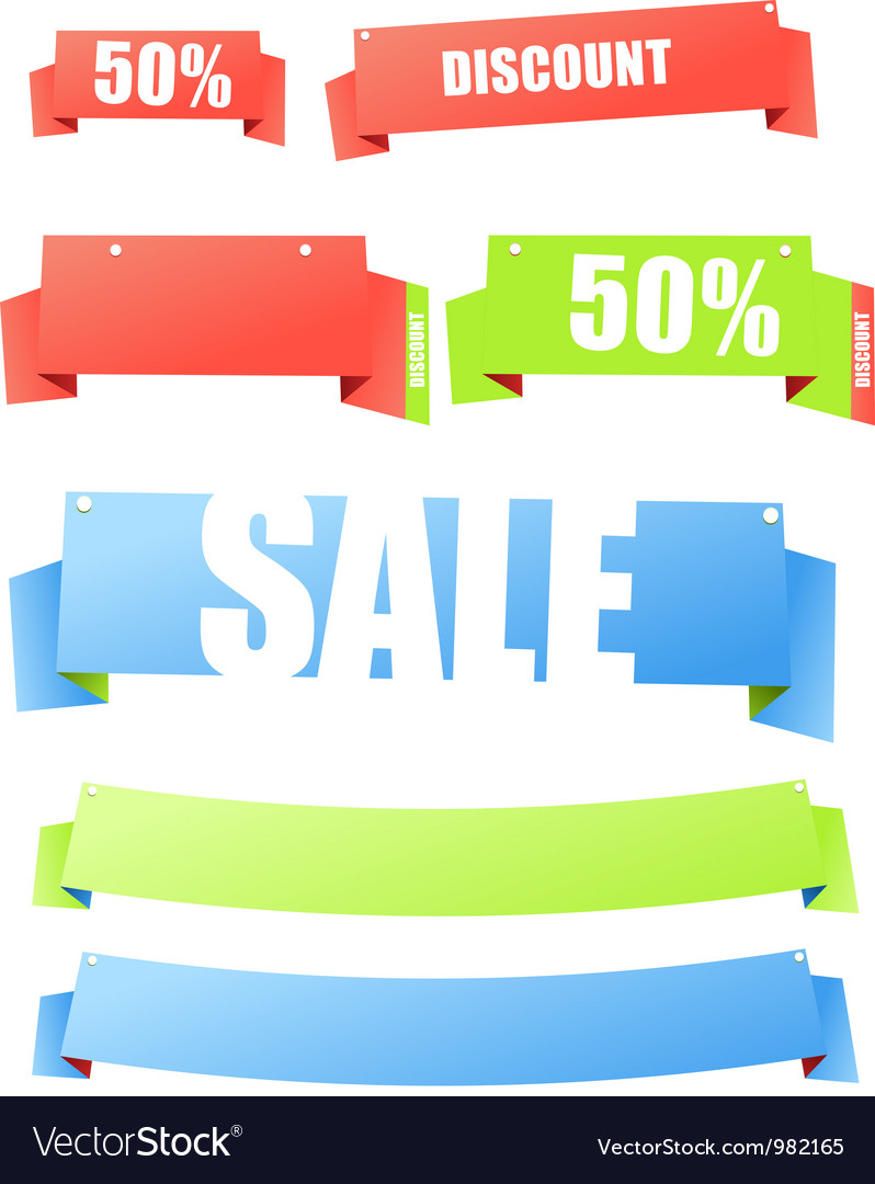 Colorful polygonal origami banners vector   Price: 1 Credit (USD $1)