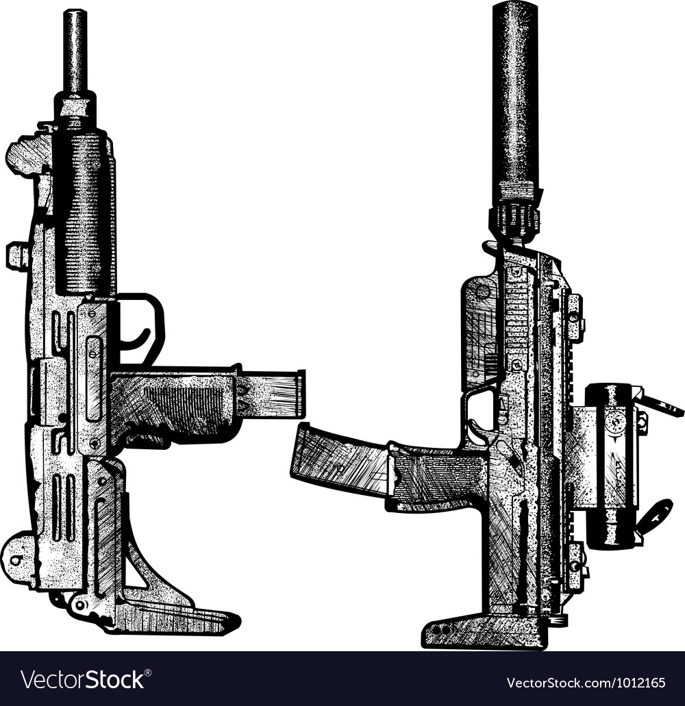 Combat weapons 2 vector | Price: 1 Credit (USD $1)