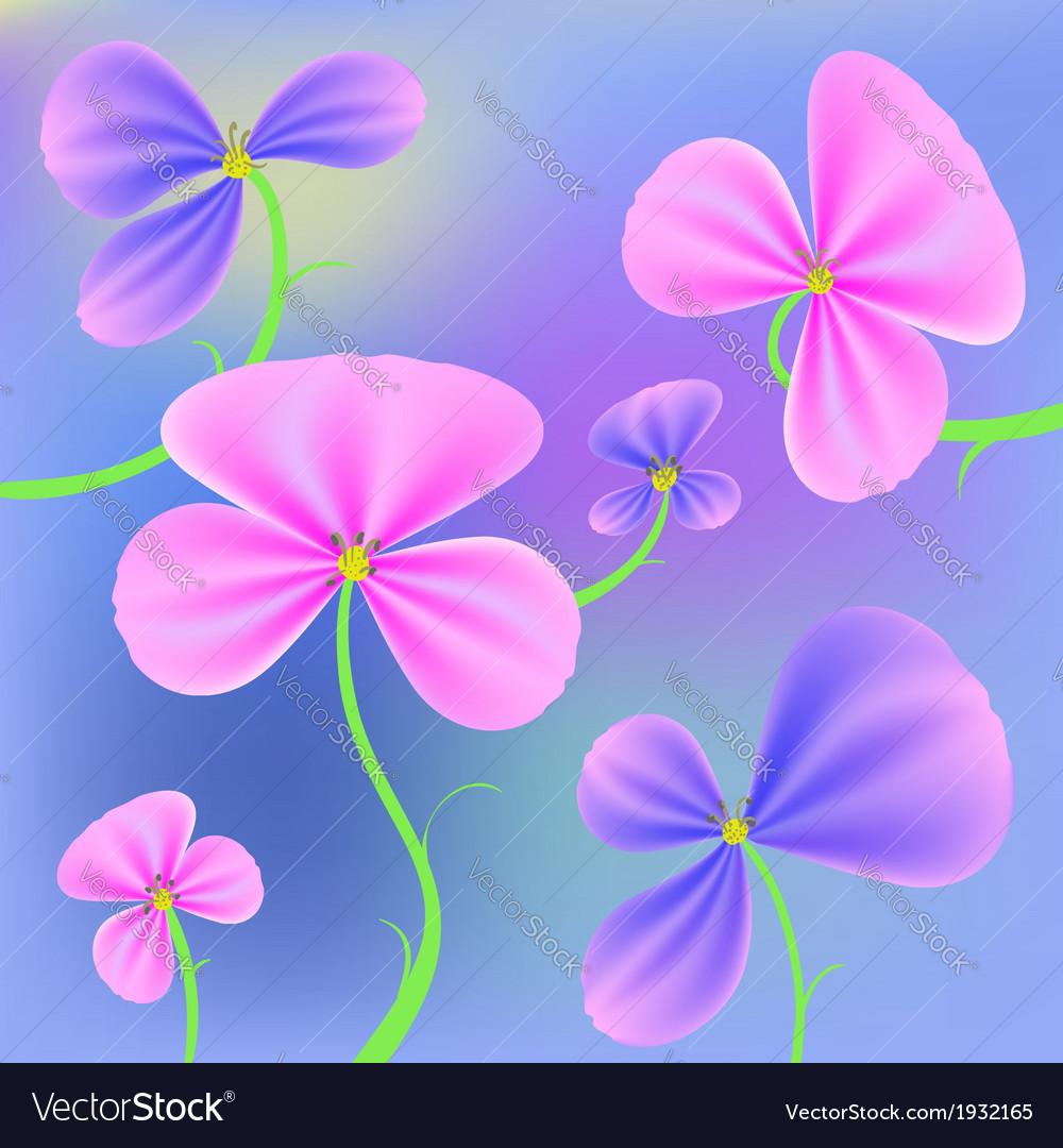 Fresh flowers vector | Price: 1 Credit (USD $1)