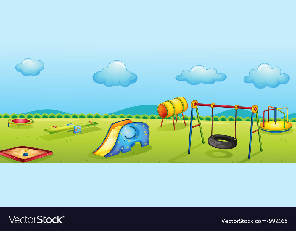 Play park vector | Price: 1 Credit (USD $1)