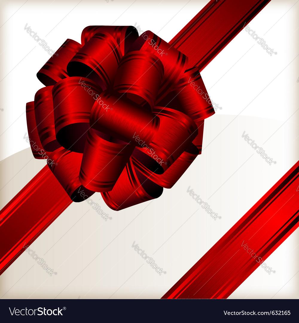 Ribbon bow vector | Price: 1 Credit (USD $1)