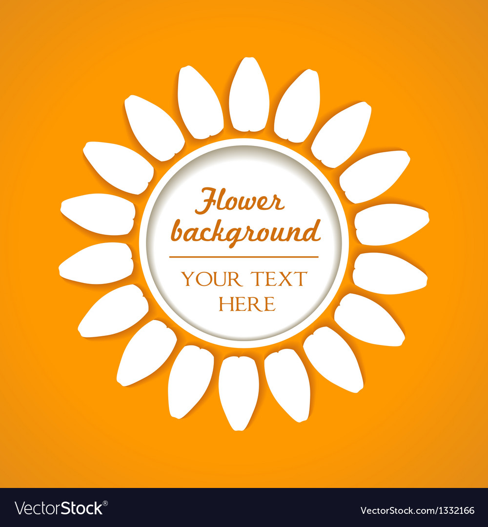 Flower blend background vector | Price: 1 Credit (USD $1)