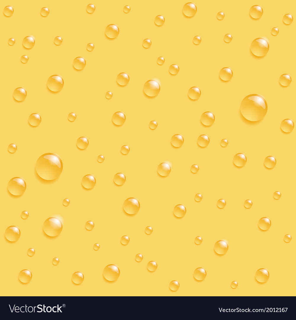 Drops yellow seamless vector | Price: 1 Credit (USD $1)
