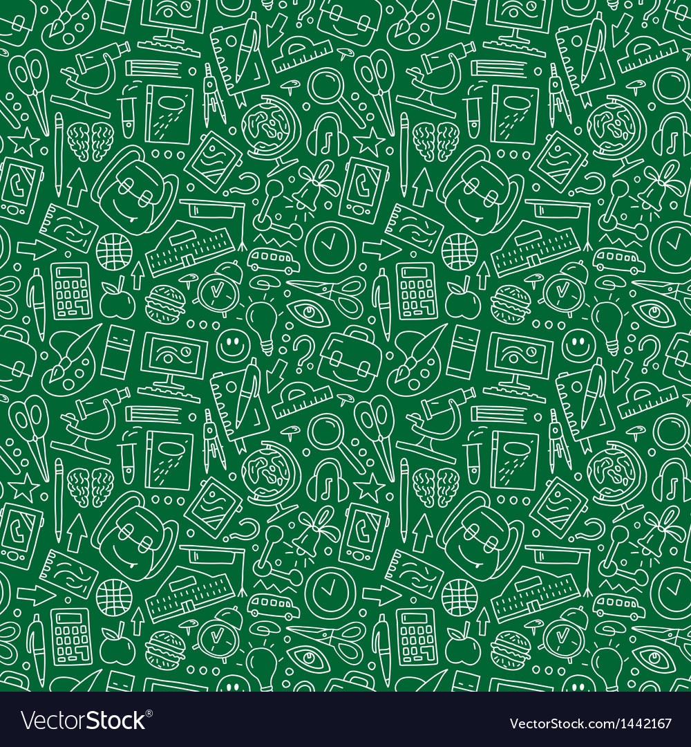 School education - seamless background vector   Price: 1 Credit (USD $1)