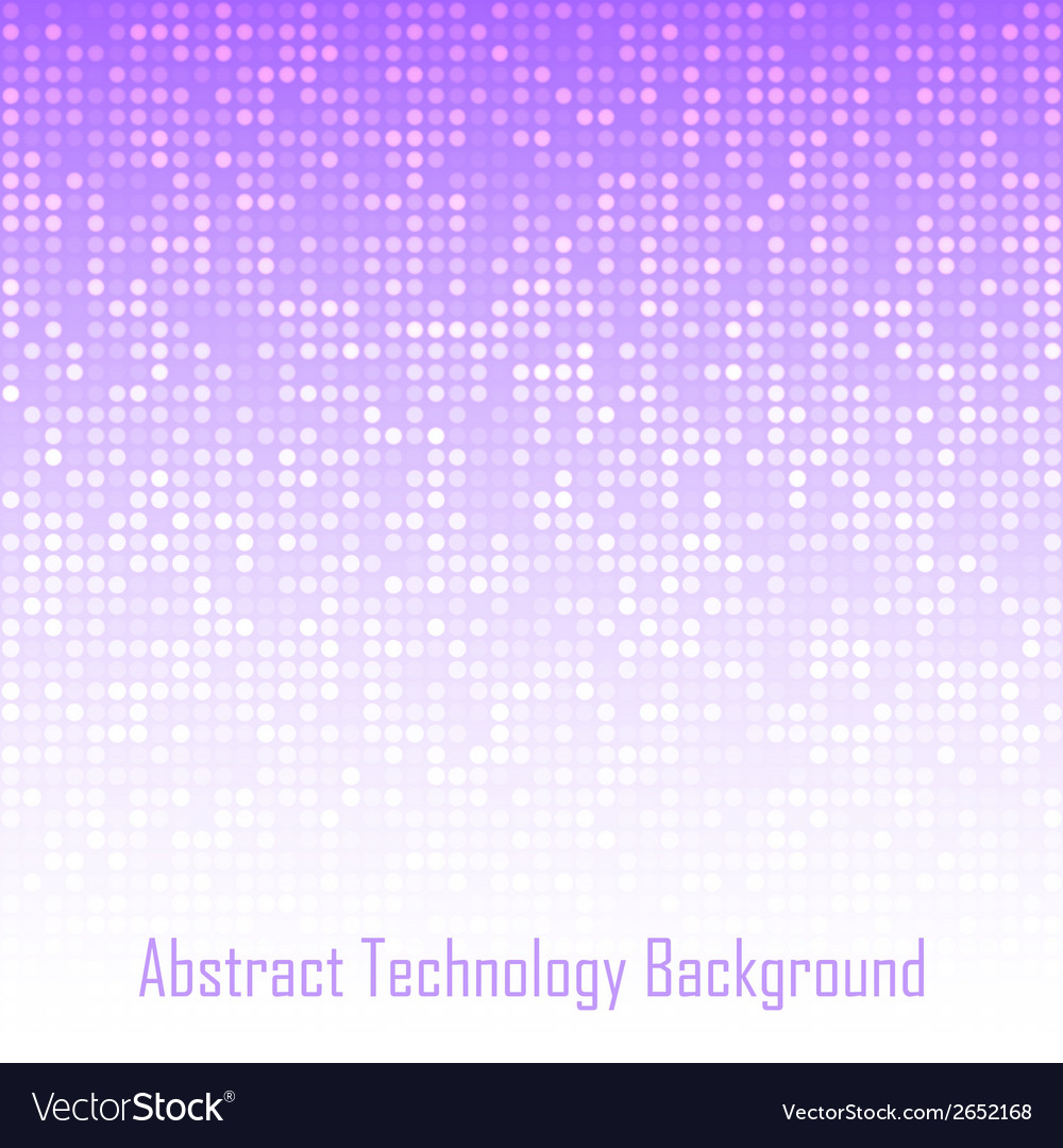 Abstract violet technology background vector | Price: 1 Credit (USD $1)