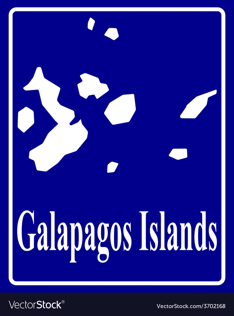 Galapagos islands vector | Price: 1 Credit (USD $1)