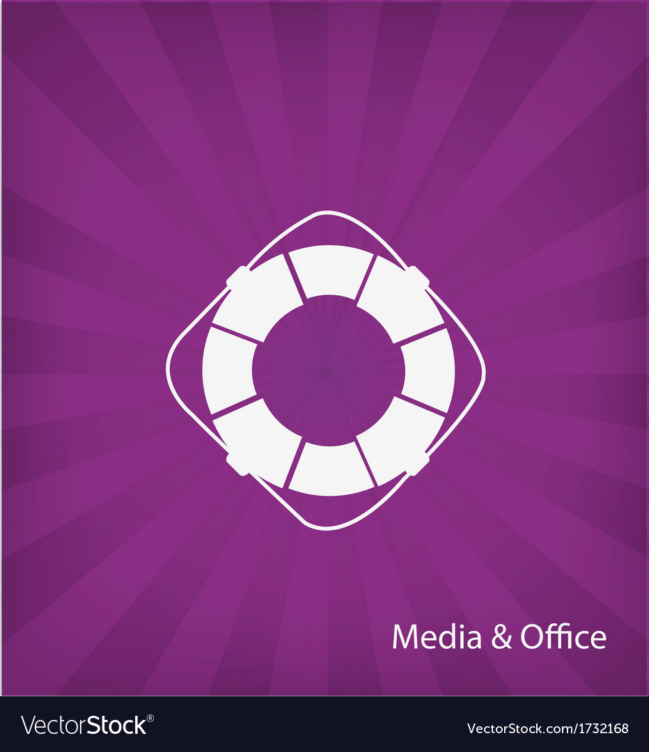 Office media icon vector | Price: 1 Credit (USD $1)