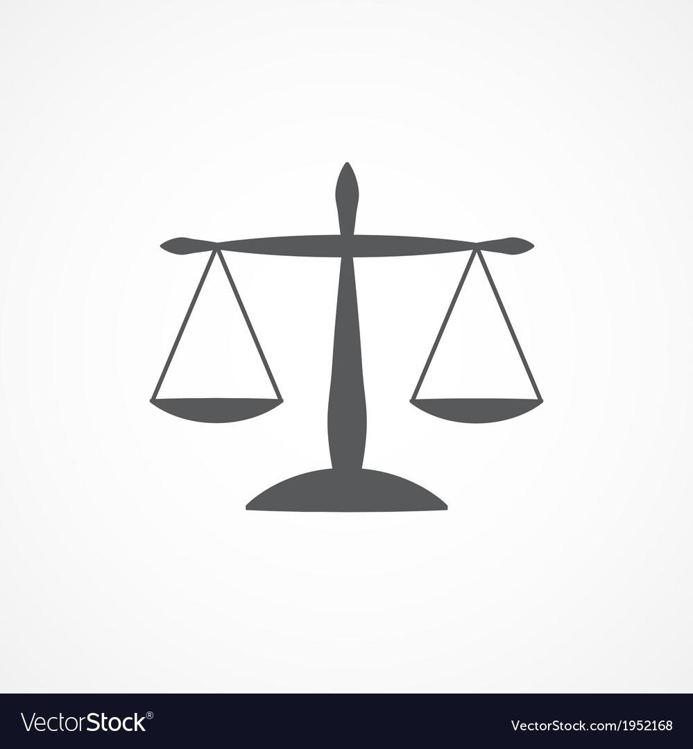 Scale icon vector | Price: 1 Credit (USD $1)