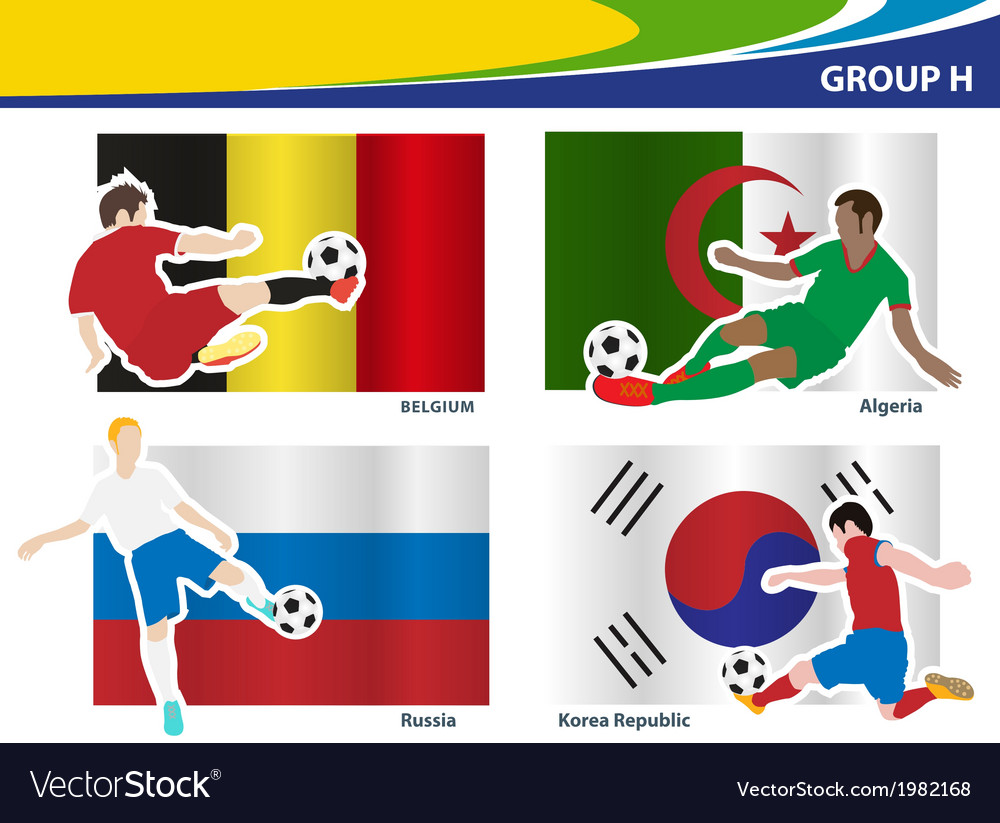 Soccer football players brazil 2014 group h vector   Price: 1 Credit (USD $1)