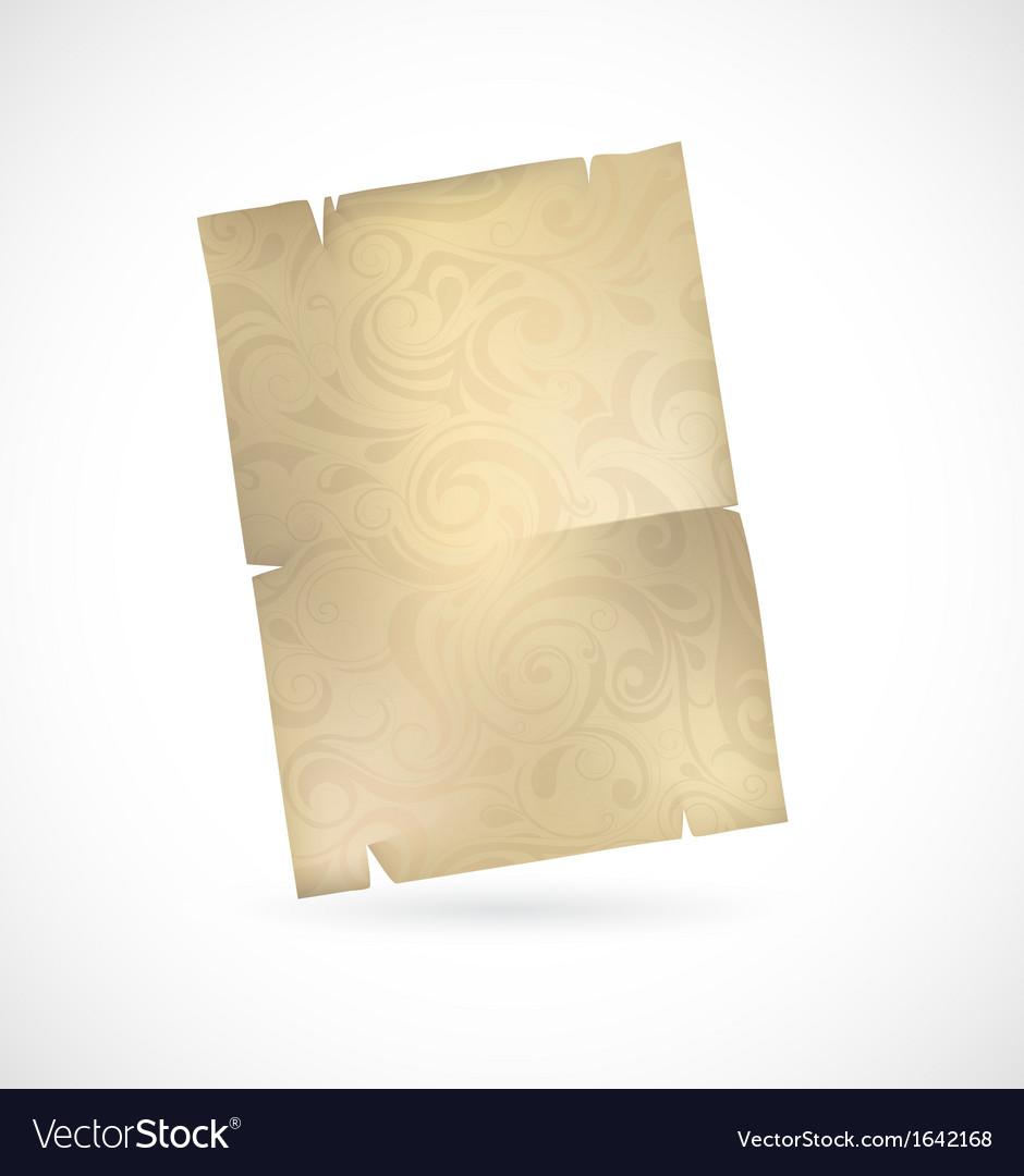 Vintage paper vector | Price: 1 Credit (USD $1)