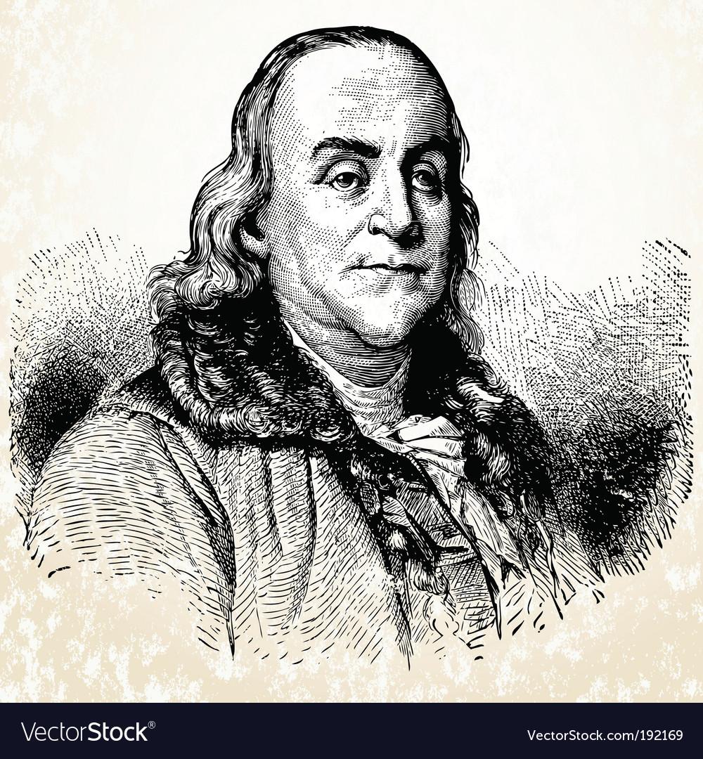 Benjamin franklin vector   Price: 1 Credit (USD $1)