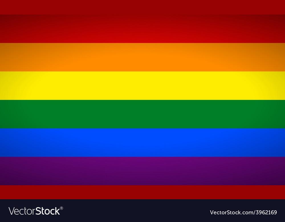 Gayflag vector | Price: 1 Credit (USD $1)