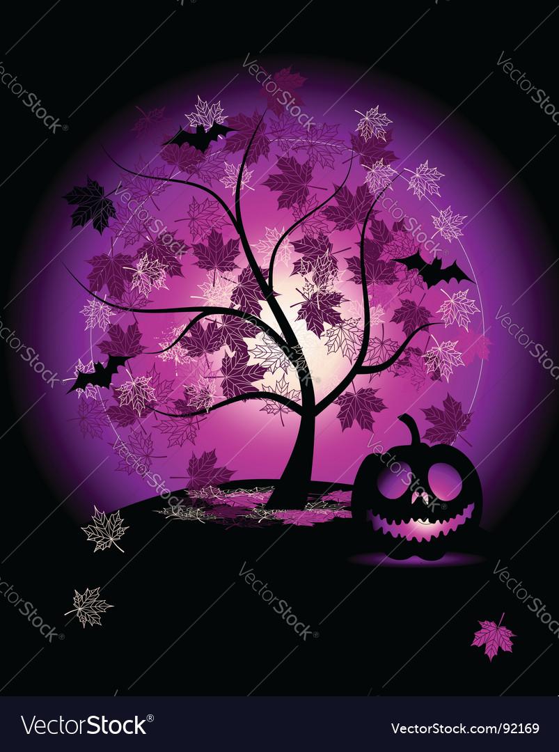 Halloween pumpkin illustration vector | Price: 1 Credit (USD $1)