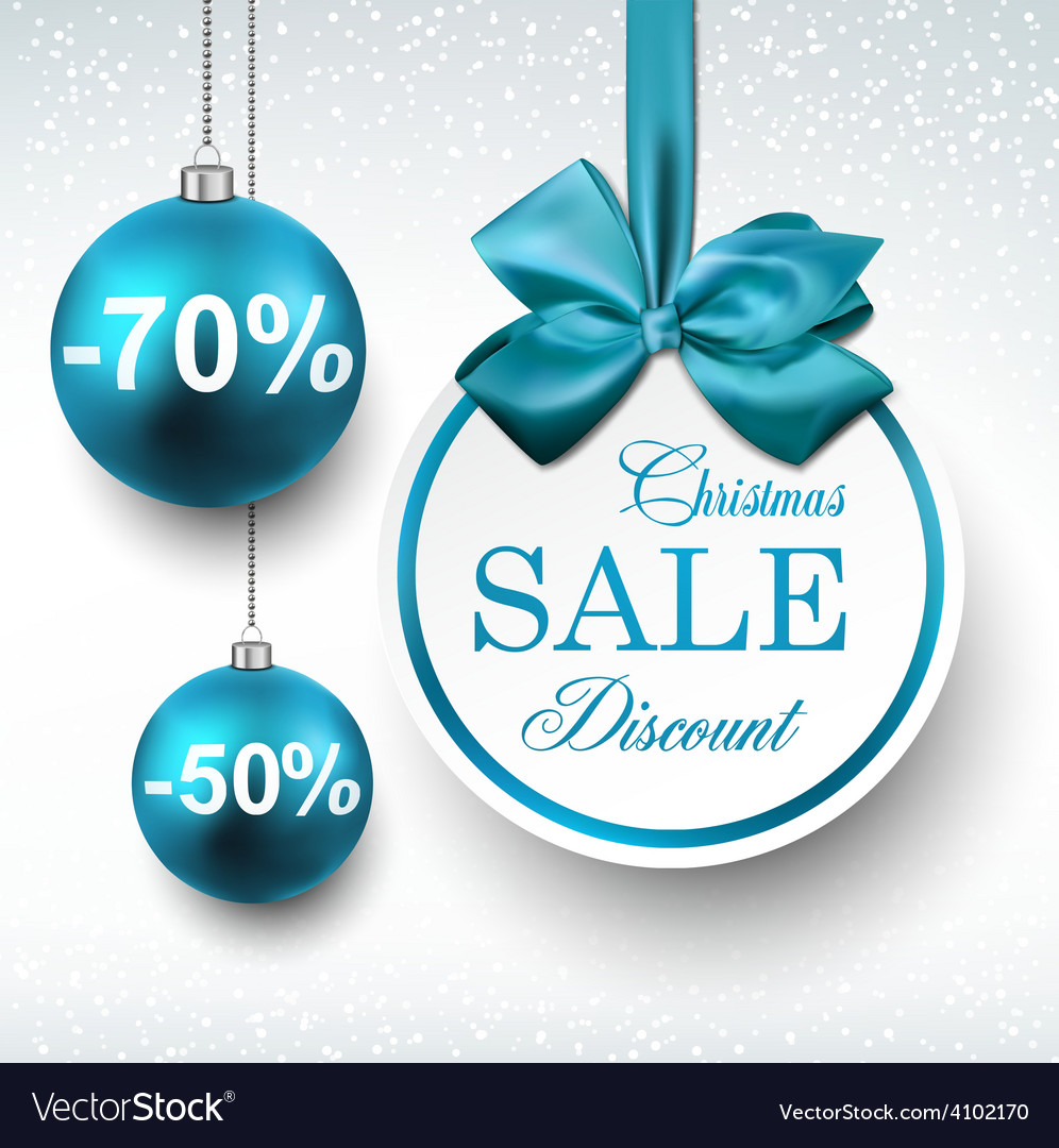 Blue paper round sale labels vector | Price: 1 Credit (USD $1)