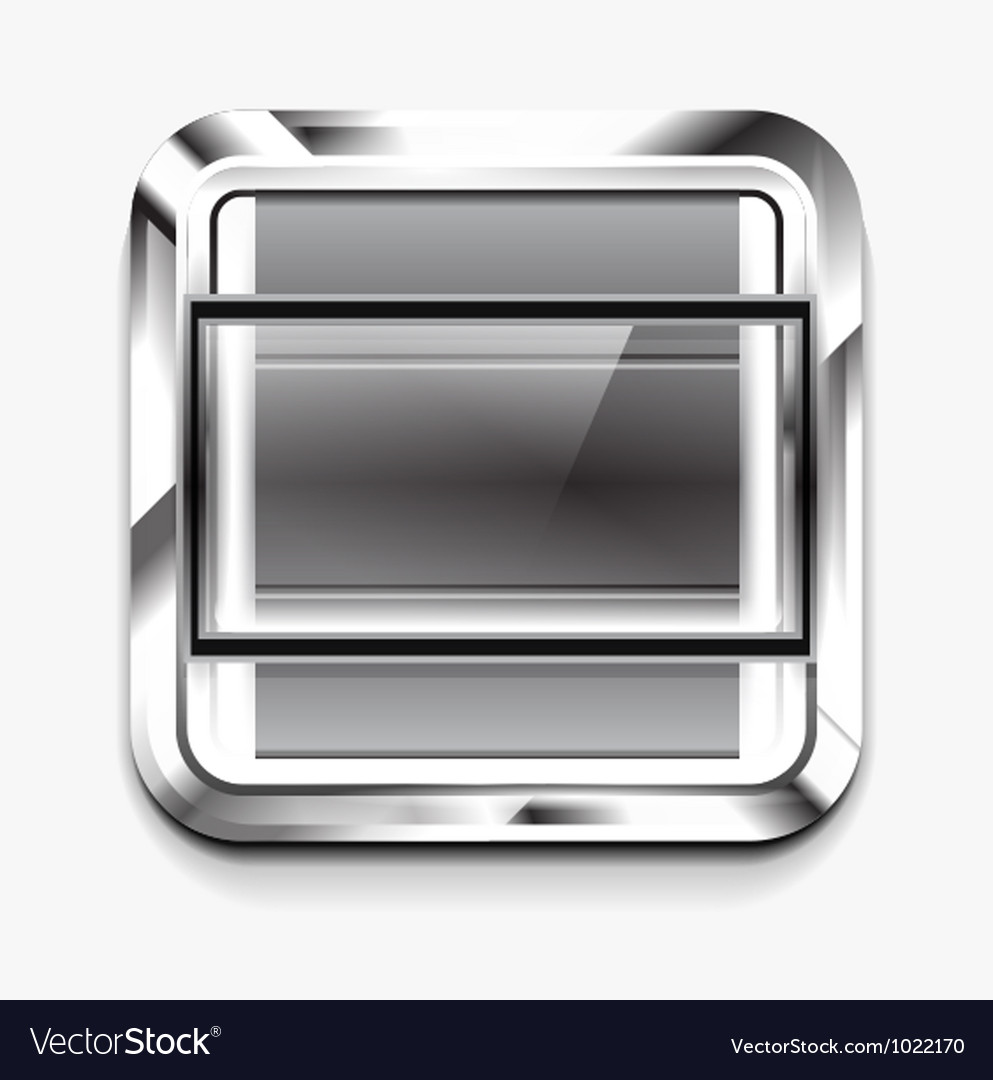 Scroller square icon vector | Price: 1 Credit (USD $1)