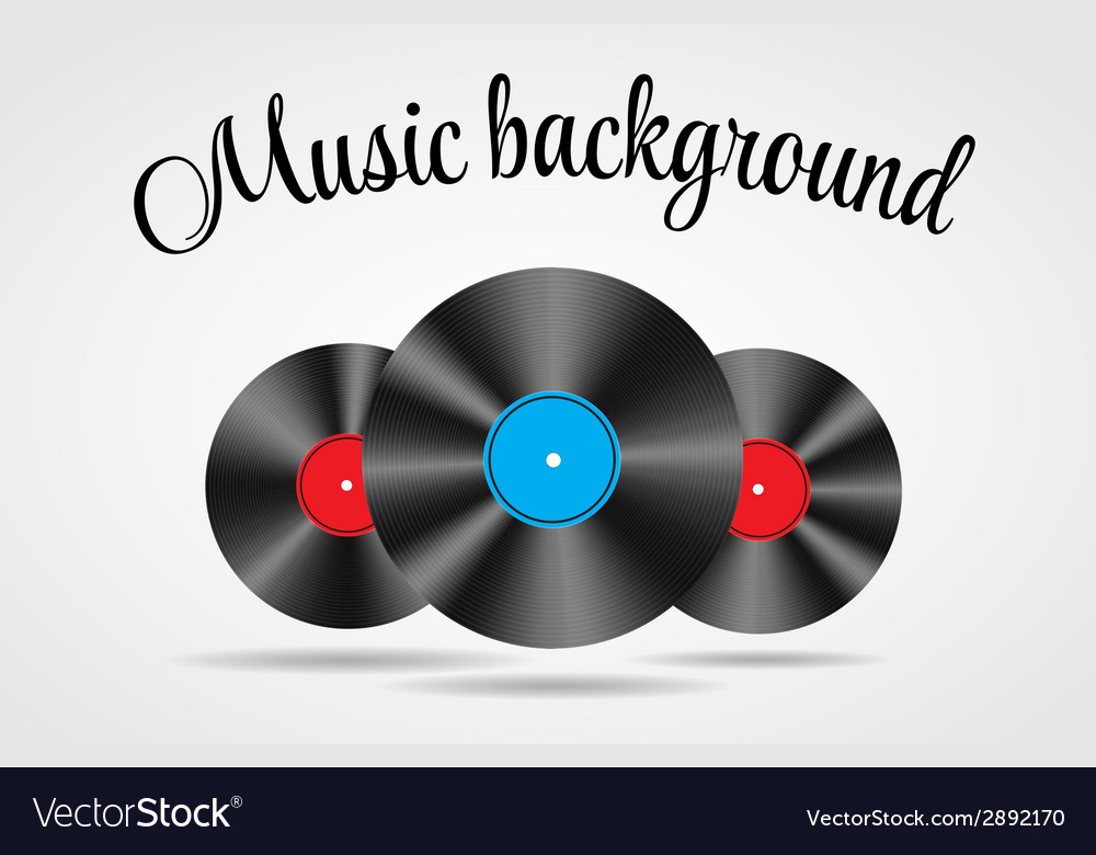 Set of abstract music background for your de vector | Price: 1 Credit (USD $1)