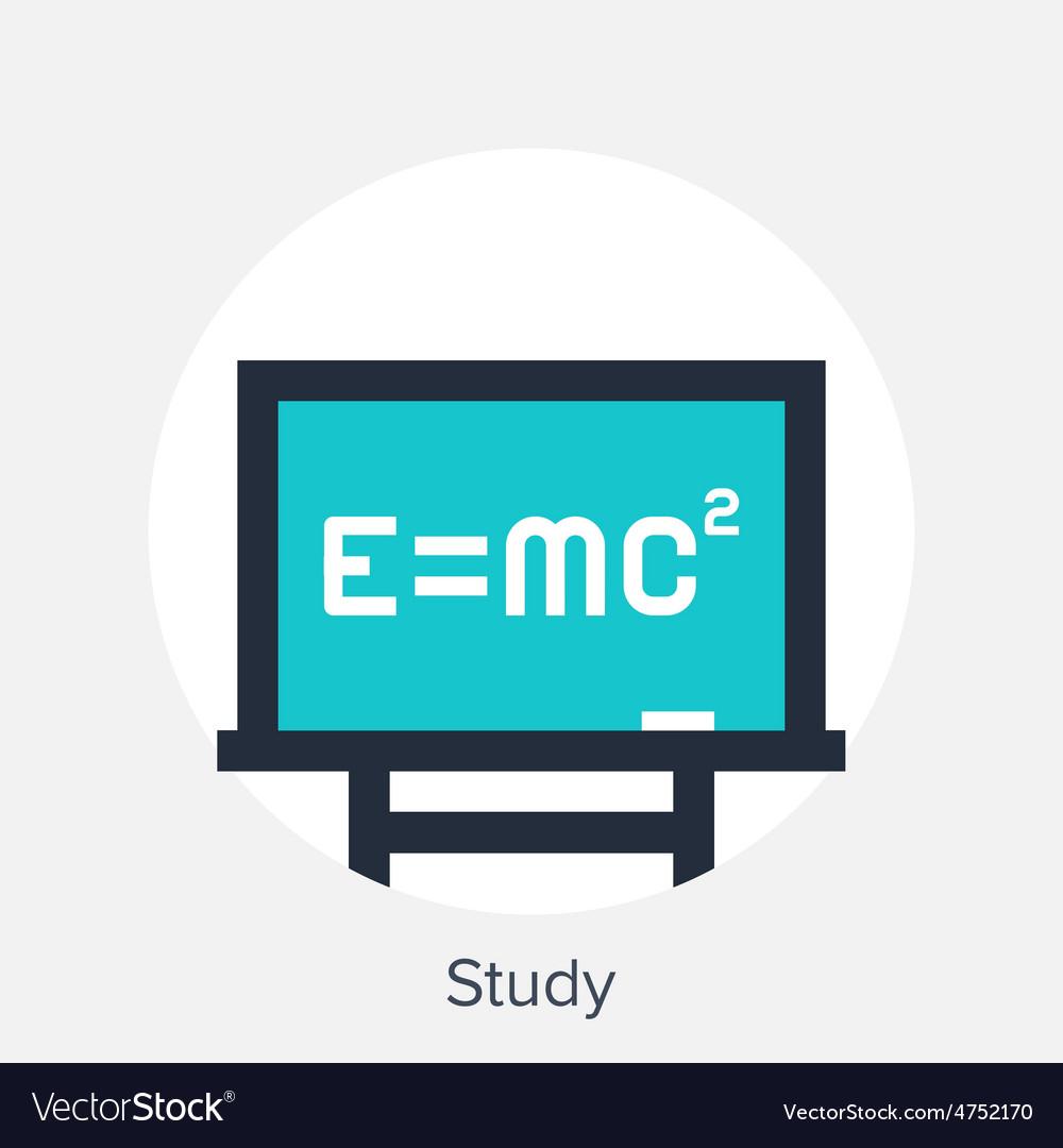Study icon vector | Price: 1 Credit (USD $1)