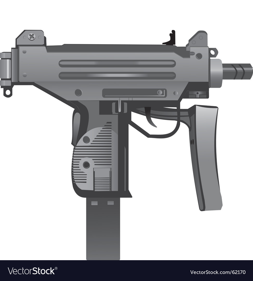 Uzi vector | Price: 1 Credit (USD $1)