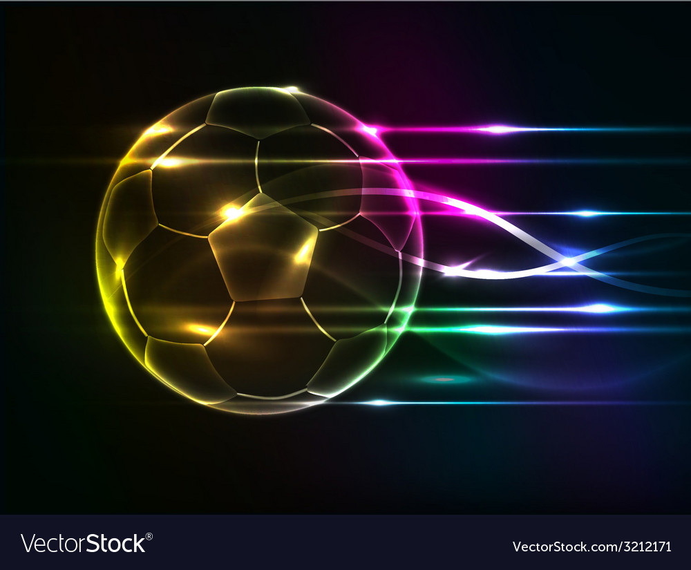 Background abstact corlurful football vector | Price: 1 Credit (USD $1)