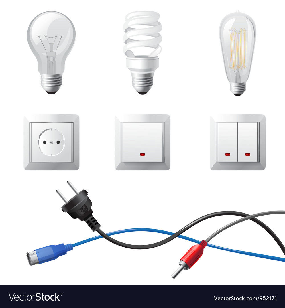Home electricity vector | Price: 3 Credit (USD $3)