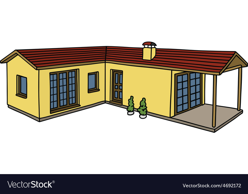 Low house vector | Price: 1 Credit (USD $1)