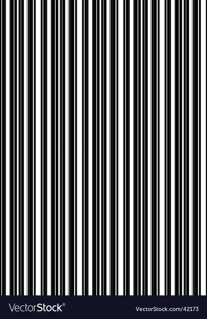 Barcode texture vector | Price: 1 Credit (USD $1)