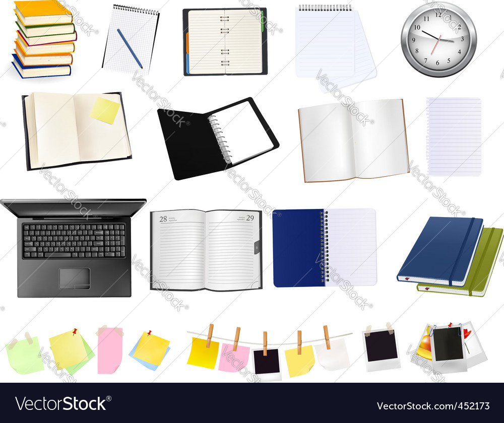 Colection of business elements vector   Price: 3 Credit (USD $3)