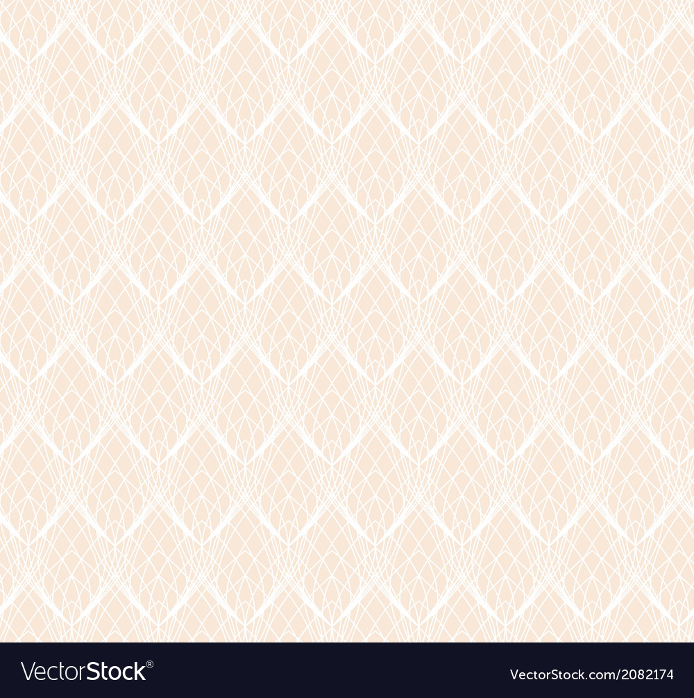 Abstract white lace seamless pattern background vector | Price: 1 Credit (USD $1)