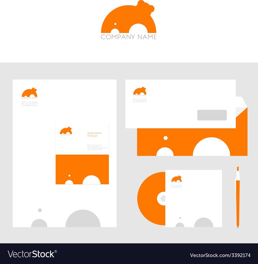 Design of corporate identity templates vector | Price: 1 Credit (USD $1)