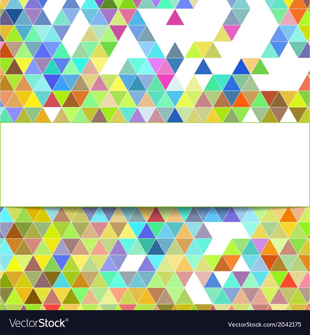 Design geometrical background vector | Price: 1 Credit (USD $1)
