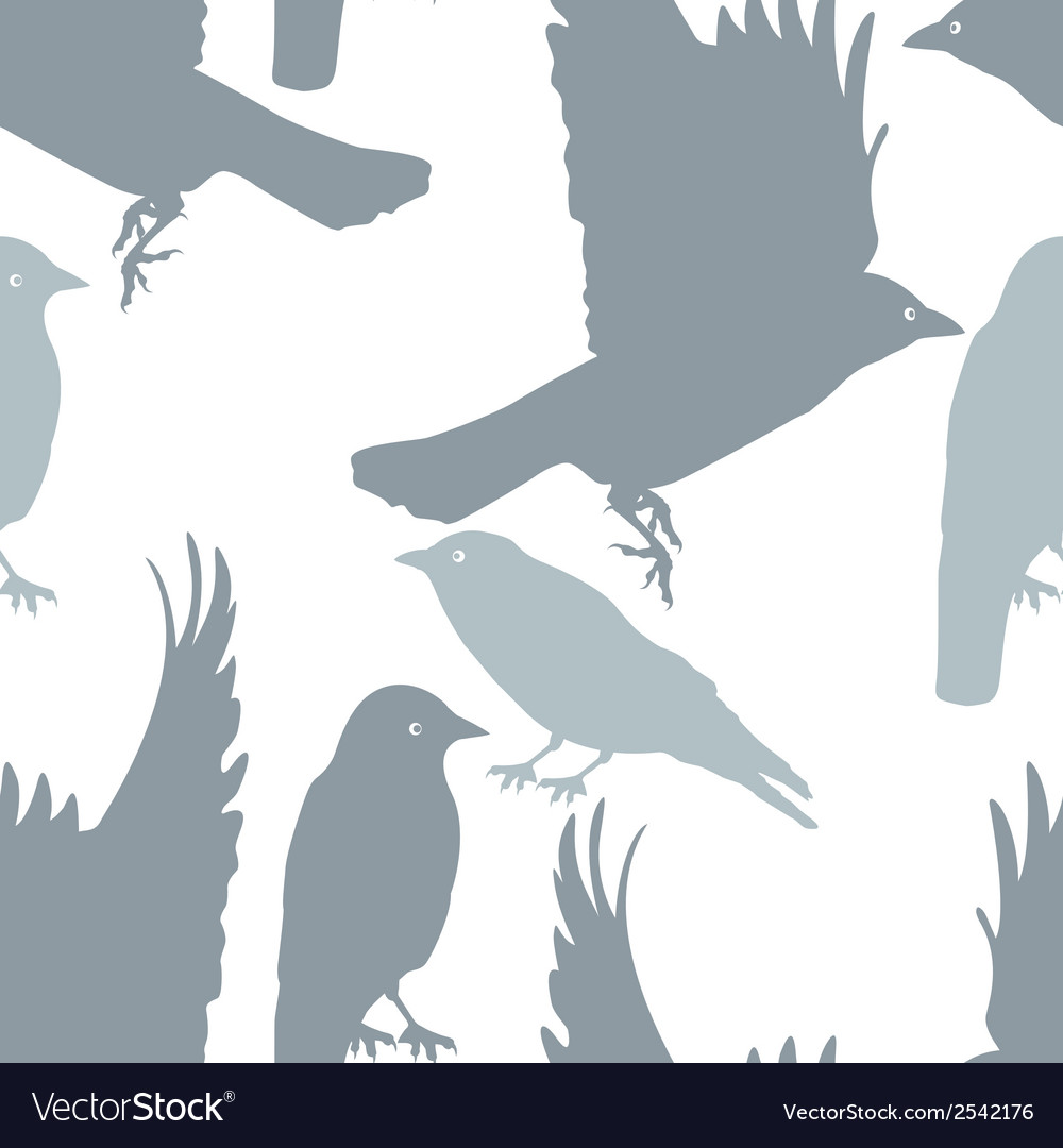 Pattern seamless with birds plus eps10 vector | Price: 1 Credit (USD $1)