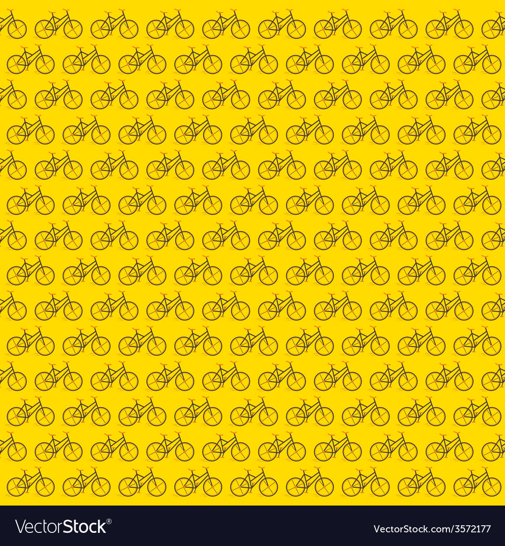 Bicycle pattern in blue background vector | Price: 1 Credit (USD $1)