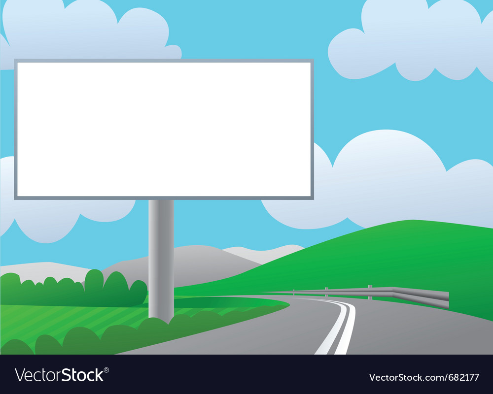 Country billboard vector | Price: 1 Credit (USD $1)