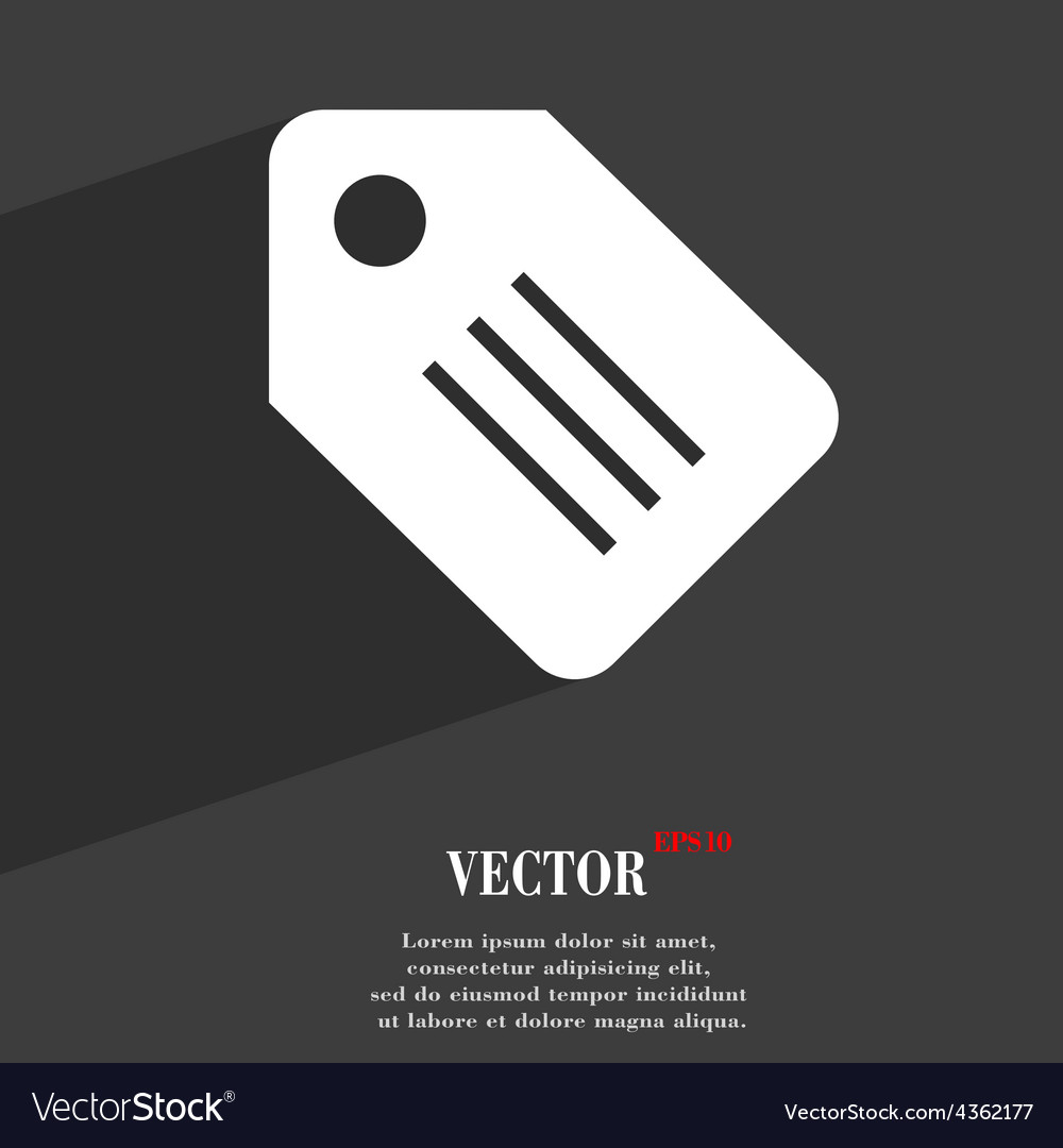 Special offer label icon symbol flat modern web vector | Price: 1 Credit (USD $1)