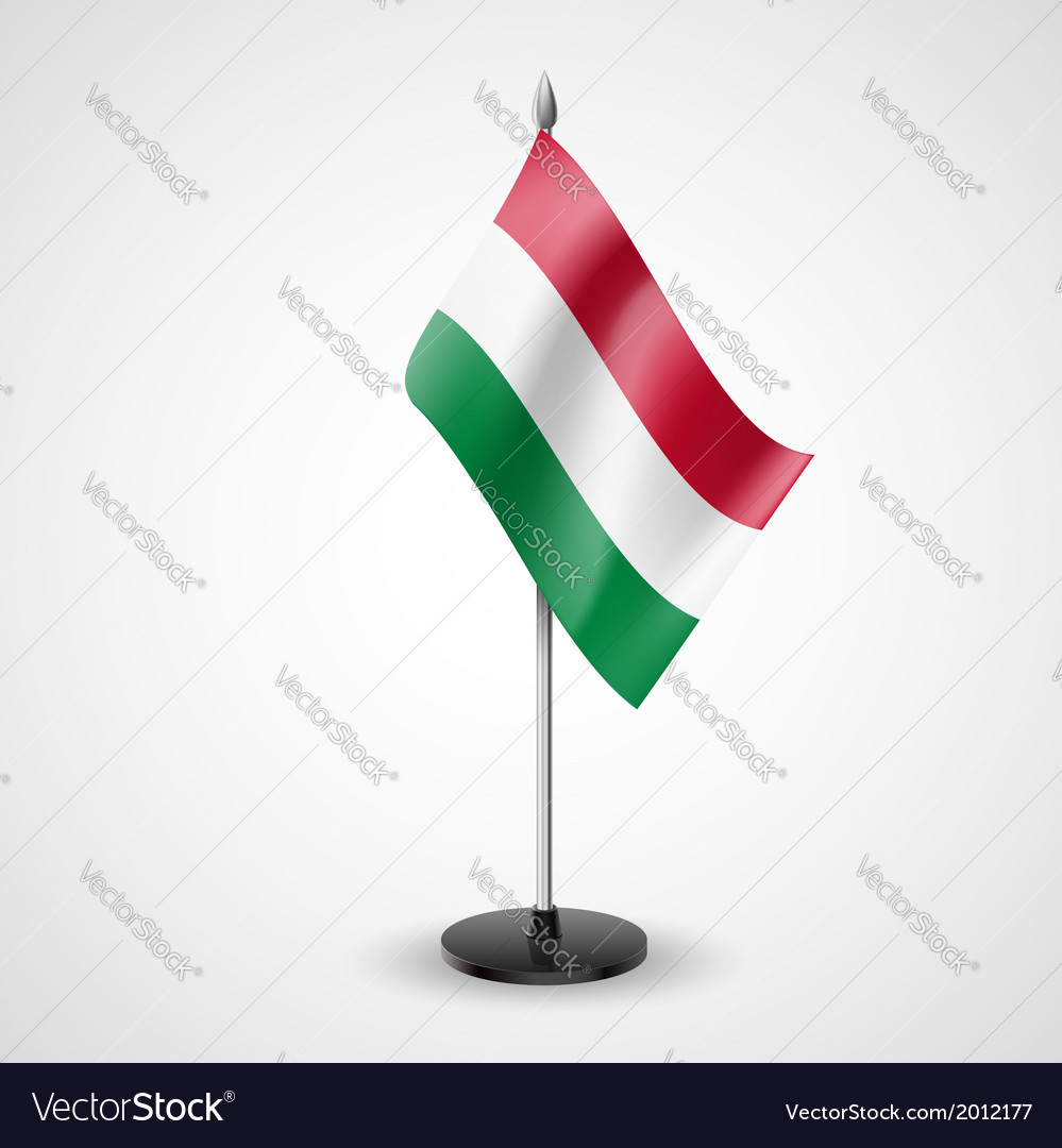 Table flag of hungary vector | Price: 1 Credit (USD $1)
