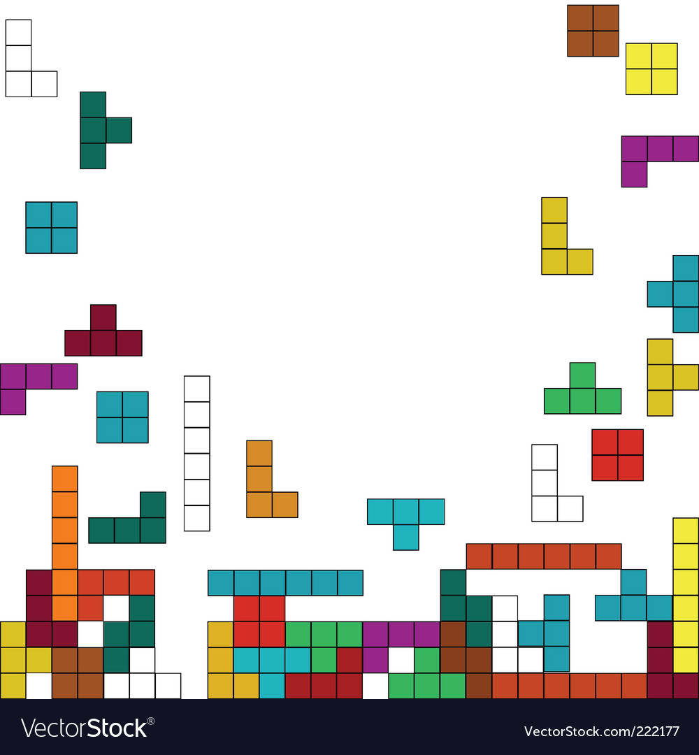 Tetris vector   Price: 1 Credit (USD $1)
