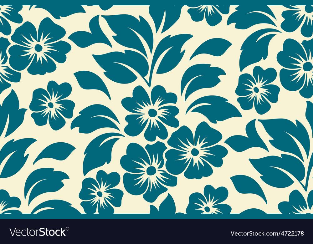 Flower seamless pattern element vector | Price: 1 Credit (USD $1)