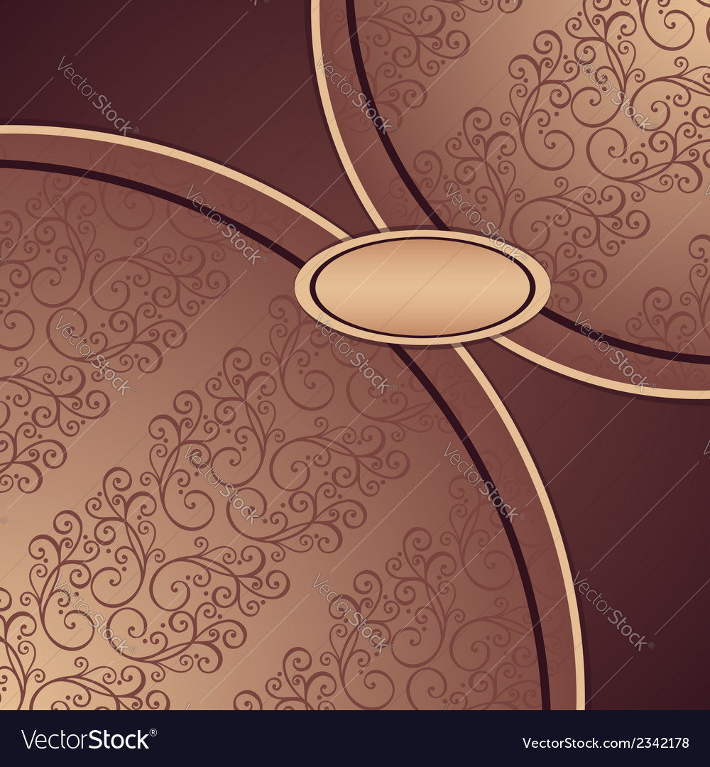 Template with ornamental pattern vector   Price: 1 Credit (USD $1)