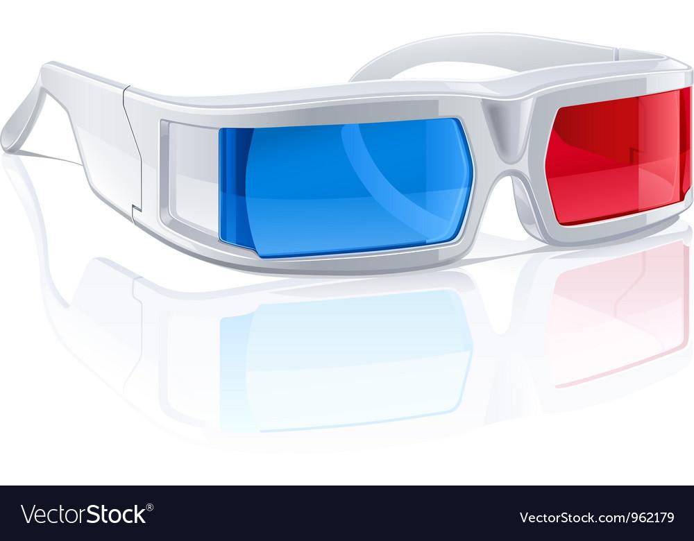 3d glasses vector   Price: 3 Credit (USD $3)