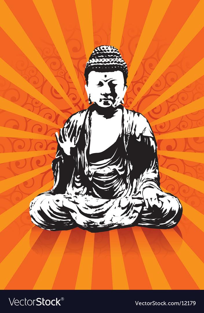 Buddha vector | Price: 1 Credit (USD $1)